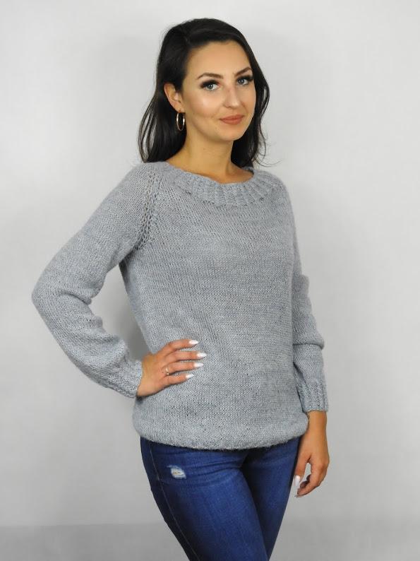 sweter damski handmade