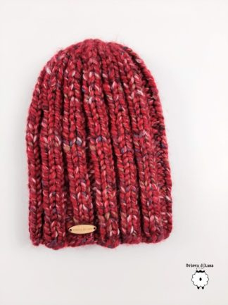 czapka n drutach