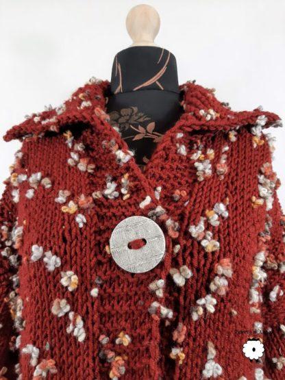 sweter damski rozpinany