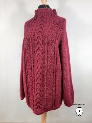 Sweter damski reglanowy MACARENA