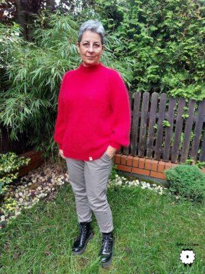 Sweter reglanowy JOSEFINA