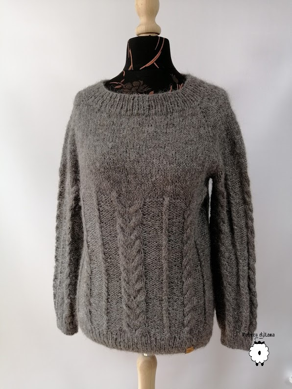 sweter reglanowy