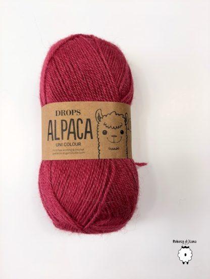 alpaca ciemna fukska