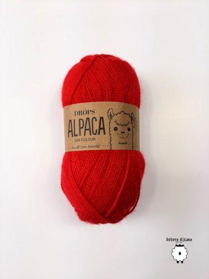 alpaca czerwony