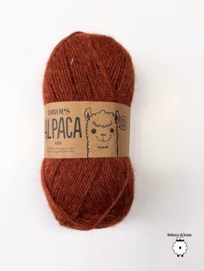 alpaca orzechowy