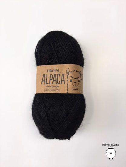 alpaca czarny