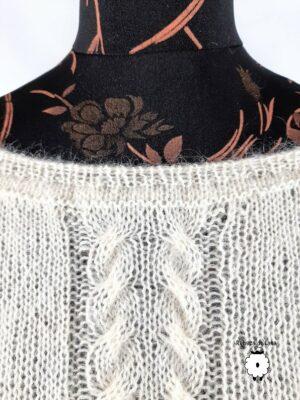 Sweter reglanowy NIEBLA