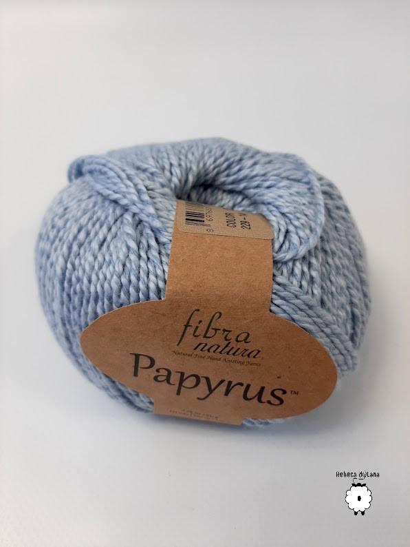 papyrus błękitny