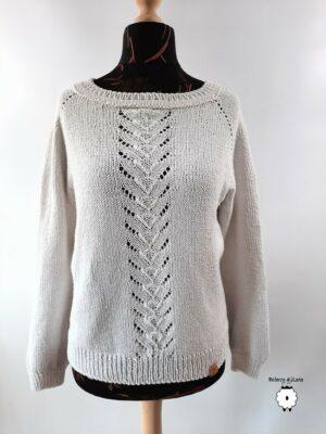 Sweter reglanowy LEANDRO