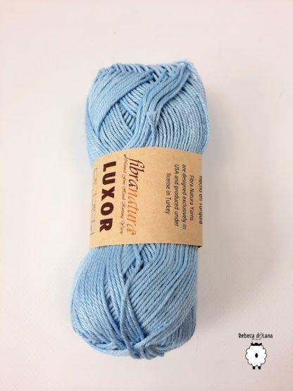bawełna błękitna