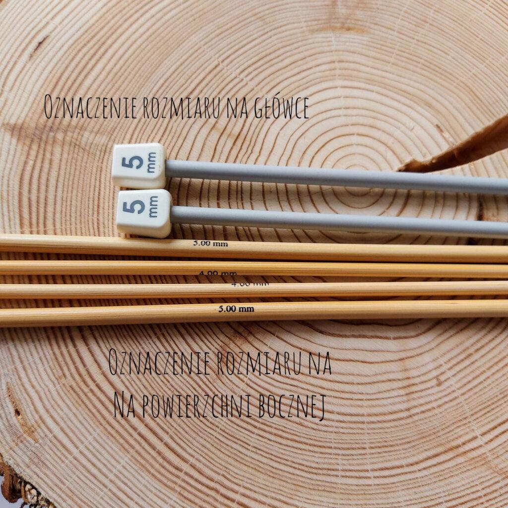 rozmiar drutów