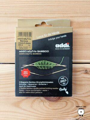 Druty ADDI CraSyTrio Bamboo
