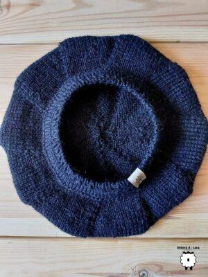 "Klasyczny beret z ""antenką"""
