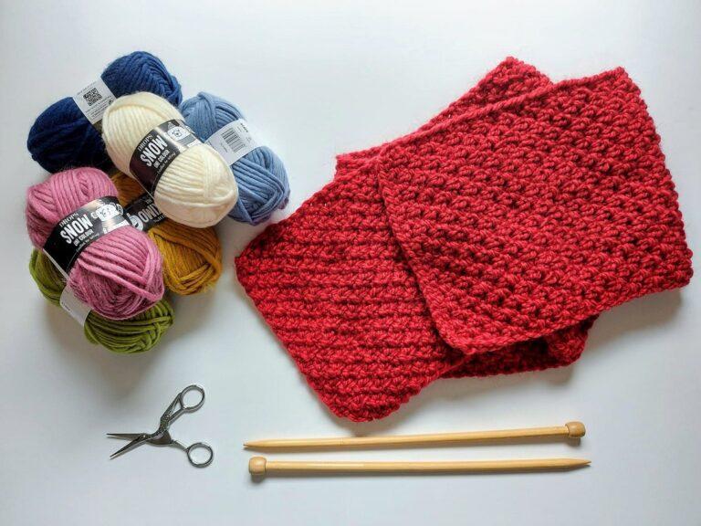 PORADNIK: jak zrobić szalik na drutach?