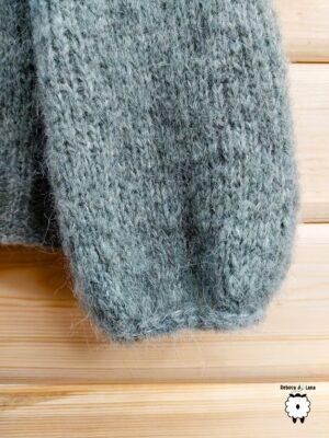 Sweter reglanowy z V-dekoltem CANDELA