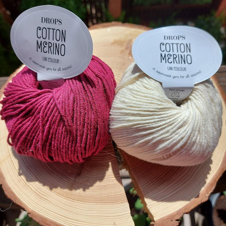 Włóczka DROPS Cotton Merino