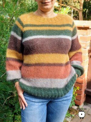 Sweter reglanowy RAYAS