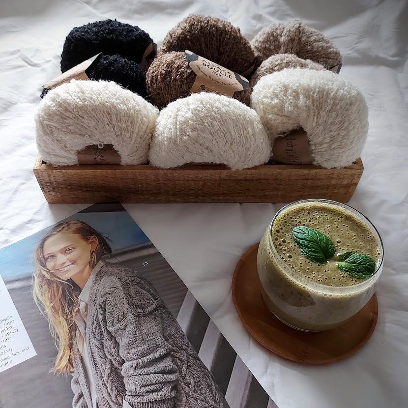 DROPS Alpaca Boucle - wełna alpak